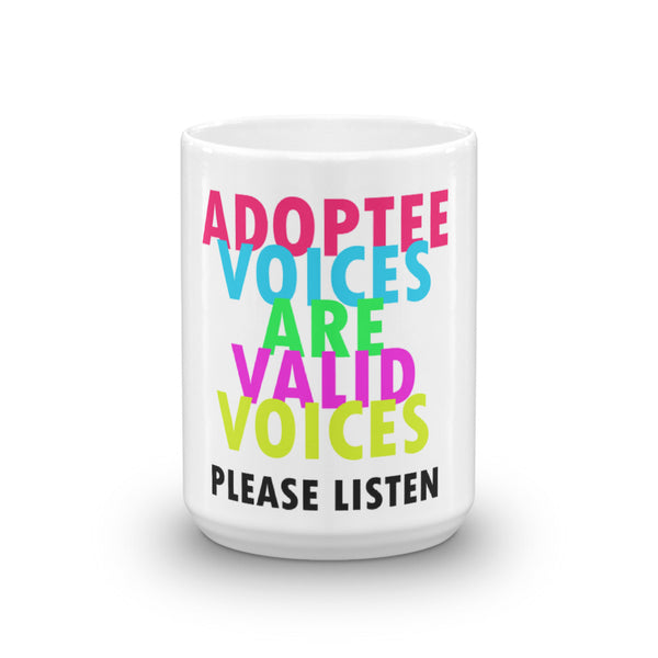 Adoptee Voices Mug