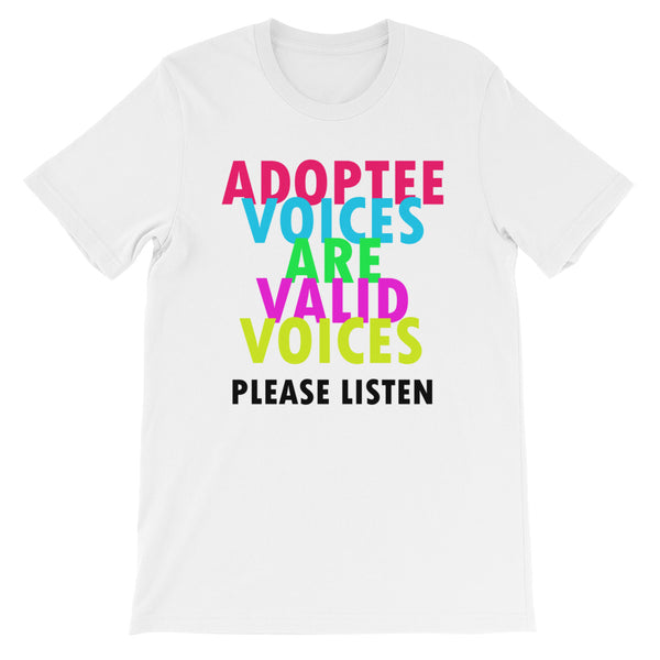 Adoptee Voices Short-Sleeve Unisex T-Shirt
