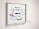 Adoptee Collage Poster