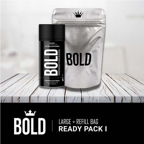 Ready Pack I - Large Bottle + Refill Bag (Save 27%)