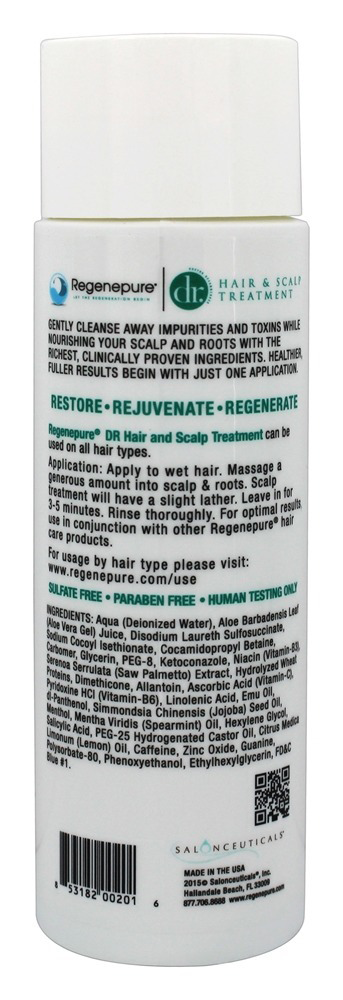 Regenepure DR Hair and Scalp Treatment