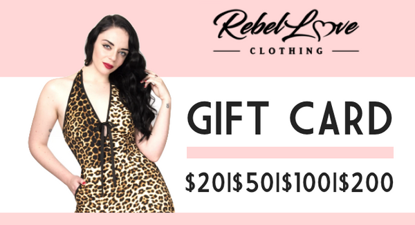 Rebel Love Gift Card (USD)