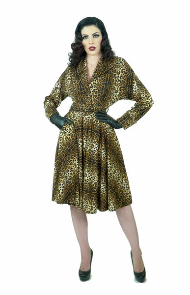 Panthera Fall Frock Coat (PreOrder)