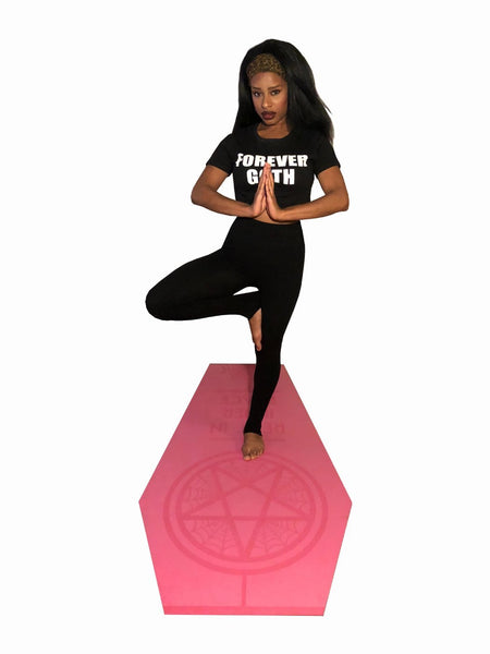RIIP Coffin Yoga Mat