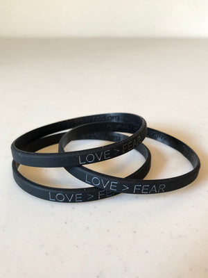 Love > Fear® Bracelets - Bag of 100