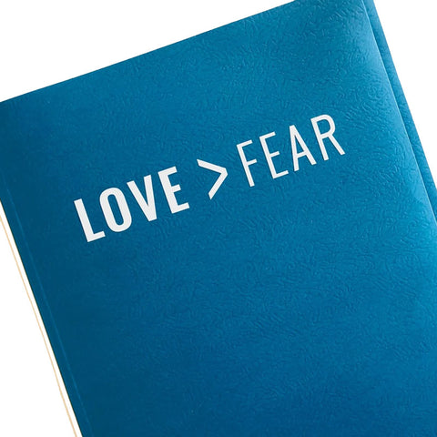 Love > Fear Vinyl Decal