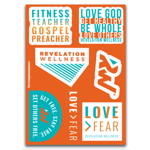 Rev Sayings Sticker Sheet