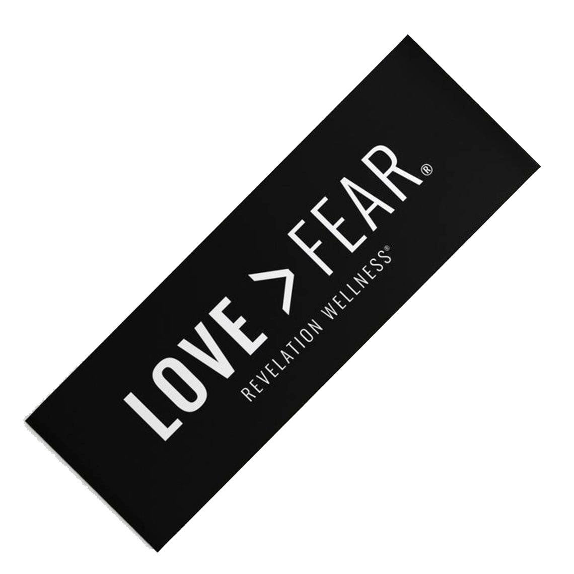 Love > Fear Premium Yoga Mat