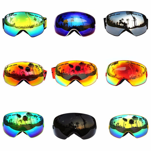 19b29d7eed72 COPOZZ Ski Goggles Double Layers UV400 Anti-fog Big Ski Mask Glasses S –  Offbeat Explorer Outdoors