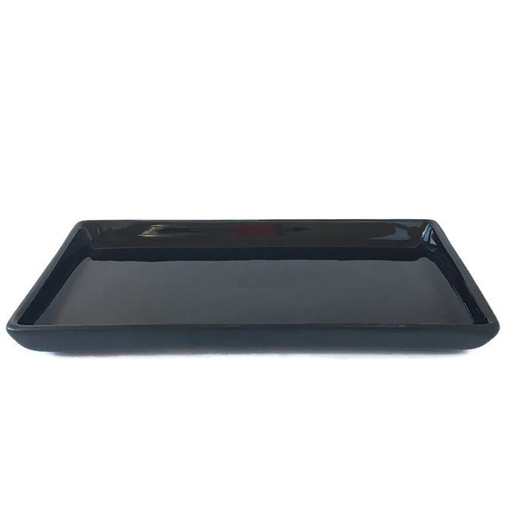 Accessories - Black Ceramic  Tray