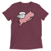 Flying Pig (Premium Triblend)