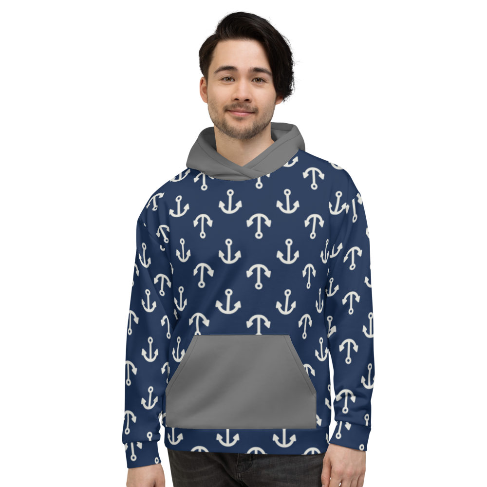 In the Navy (Allover Hoodie)
