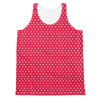 Pink Polka (Allover Tank Top)