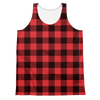 Buffalo Plaid (Allover Tank Top)