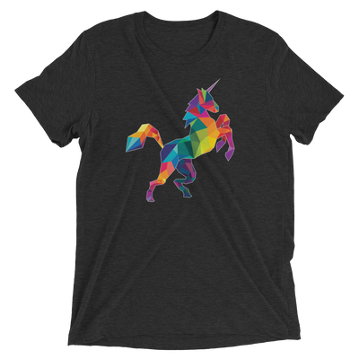 Polygon Unicorn (Premium Triblend)