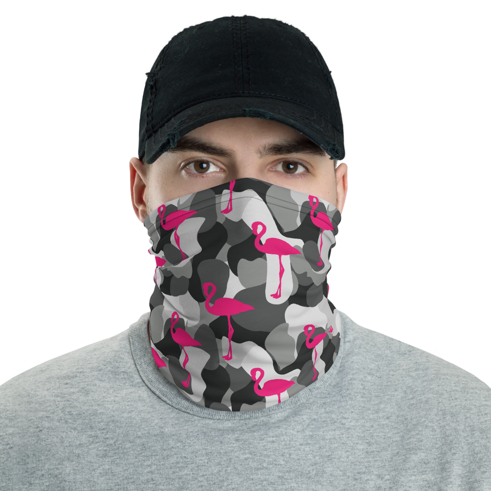 Battle Flamingo (Neck Gaiter)
