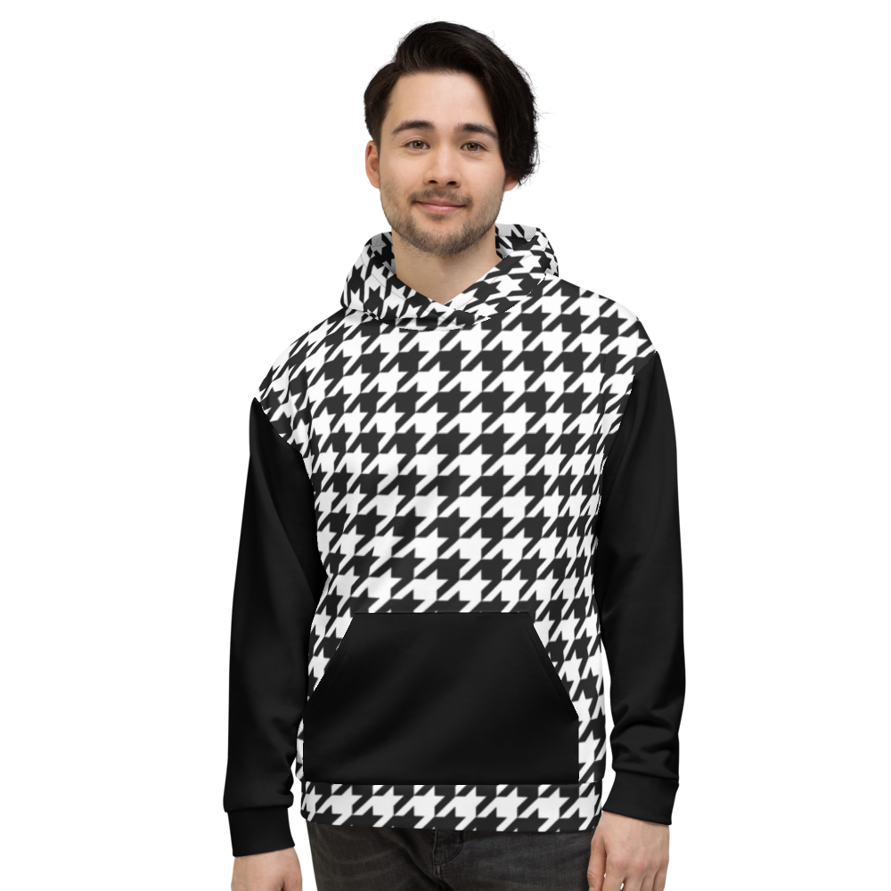 Houndstooth (Allover Hoodie)