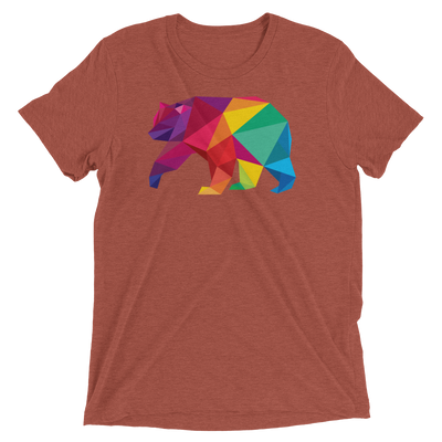 Polygon Bear (Premium Triblend)