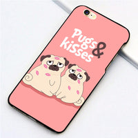 Pugs & Kisses iPhone Case