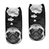 A Pug's Thought Socks
