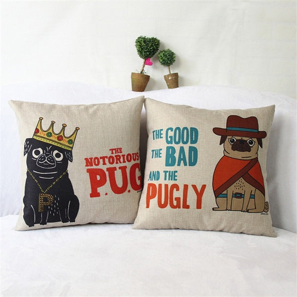 Good Bad and the Pugly Pillowcase