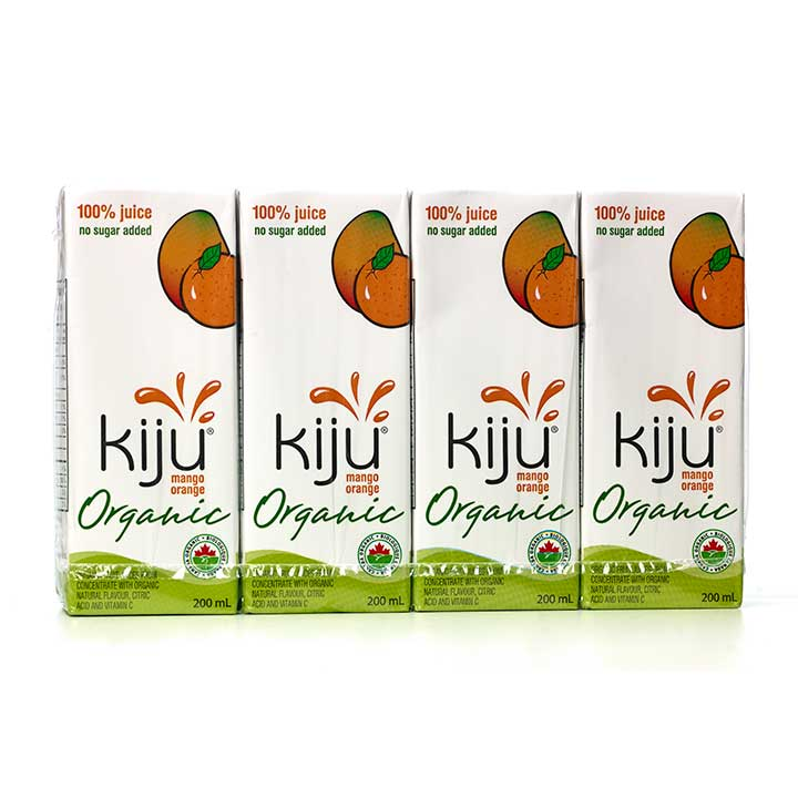 Kiju Juices, Organic *Canadian!*
