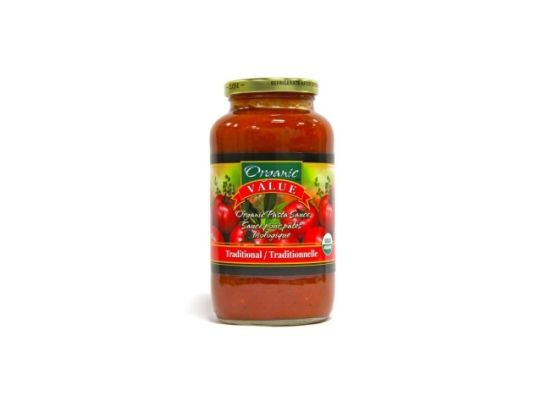 Organic Value Pasta Sauce, Organic, Kosher