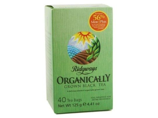 Ridgways Black Tea - 6x40 bags, Organic