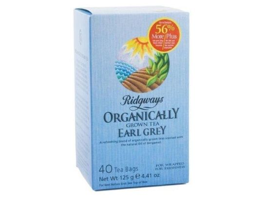 Ridgways Earl Grey Tea - 6x40 bags, Organic