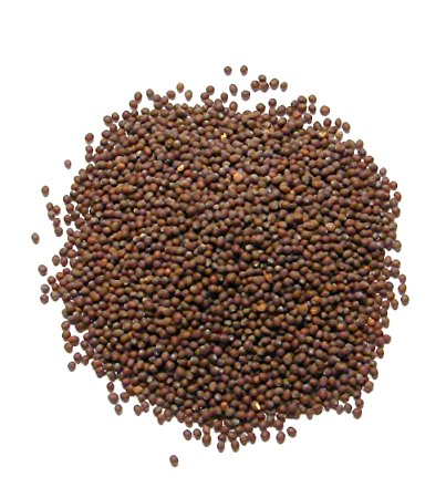 Mustard Seed Brown Whole, Organic