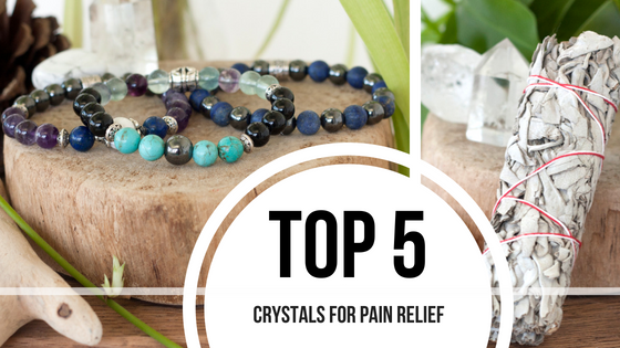 Top 5 Crystals for Pain Relief