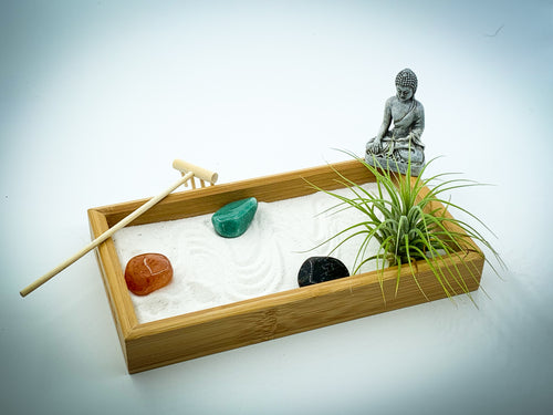 Zen Garden Air Planter | Sand Art | Desk Accessory