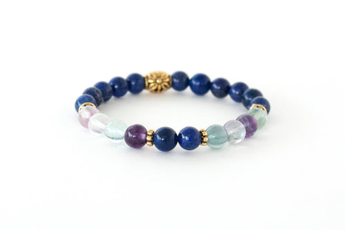Inner Clarity Crystal Healing Stretch Bracelet