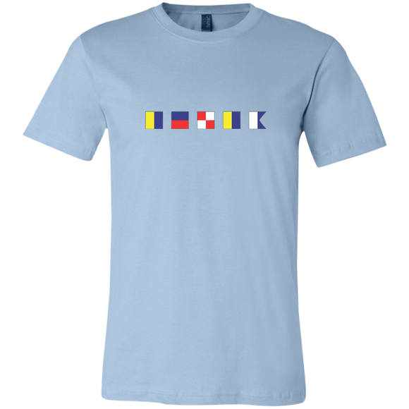 Nautical Flags T-shirt Keuka Lake