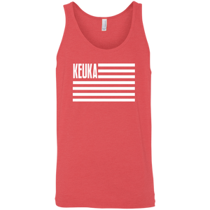 Keuka Lake American Flag Tank Top