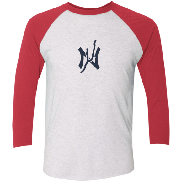 Keuka NY 3/4 Sleeve Baseball T-Shirt