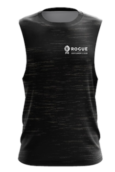 Rogue Gentlemens Club Adventure Gym Muscle Top Black