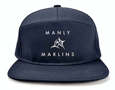 Manly Marlins 5 Panel Cap