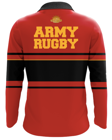 Army Rugby Union Centenary Retro Jersey (RED)