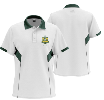 EBHS Staff Polo White (MALE)