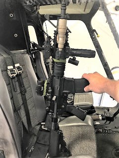 Tuscaloosa Police Helicopter arms from Charlies Custom Clones