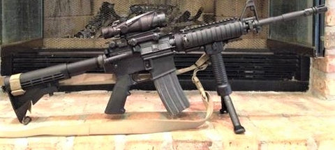 From 1st Sgt Brett M., USMC (Retired), M4A1 Block 1 clone in the customer gallery at Charlies Custom Clones