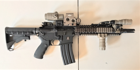 Mk18 Mod1 at customer gallery at Charlie's Custom Clones