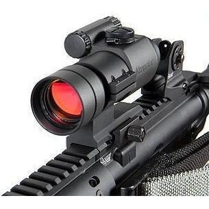 Aimpoint Optics, Rangefinders, etc. Aimpoint Carbine Optic (ACO) with integrated mount