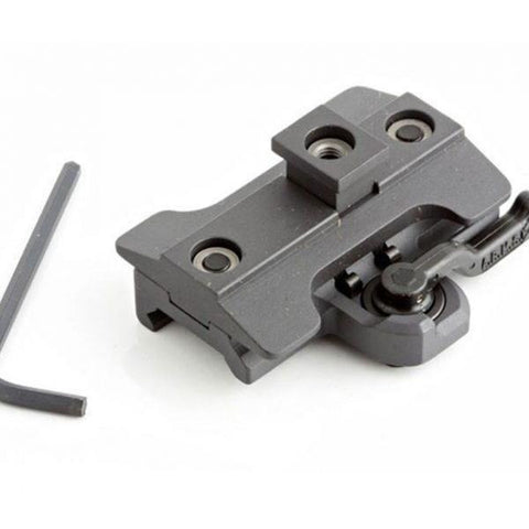ARMS Rail Grip & Attachment A.R.M.S. #32 Throw-Lever Bipod Adapter for Harris Bipods