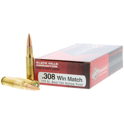 Black Hills Ammunition Ammunition Black Hills Ammo:  .300 Win Mag Match 190 gr Hollow Point