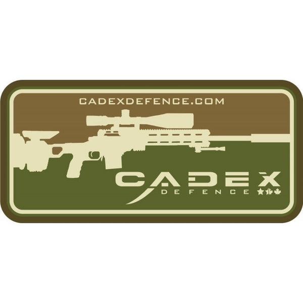 Cadex Accessories Cadex PVC patch Tan/Green