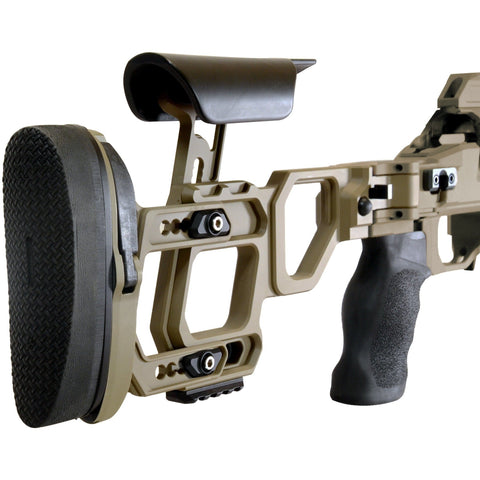 Cadex Precision Rifle Chassis Cadex Lite Competition Chassis with Skeleton stock for Rem 700