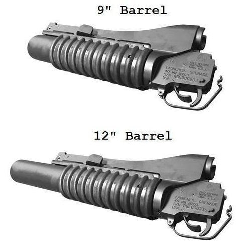 "Colt Upper Parts Colt M203 Grenade Launcher barrel, 12"" for M4 Carbine 40mm"