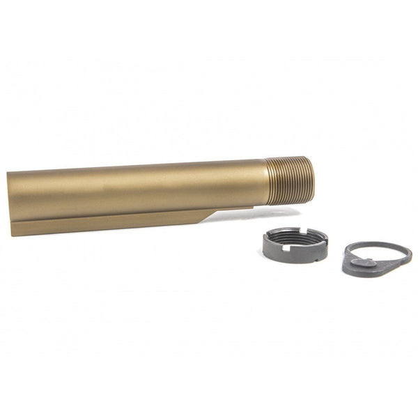 Geissele Lower Parts Geissele Premium mil spec buffer tube assembly -- Desert Dirt (DDC)